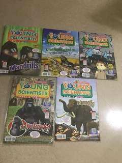 Almost new!! Young Scientists Level 3 (10 issues)