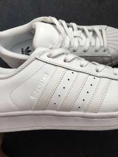 Adidas Superstar (All White)
