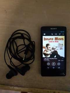 Sony high resolution digital music player