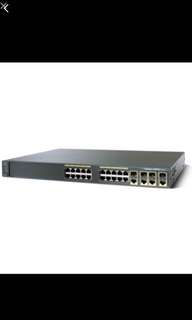 Cisco 2960G 24-port Gigabit Switch (Negotiable)