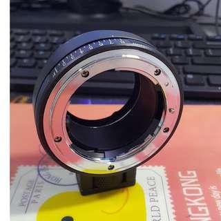 Nikon to NEX Camera Adapter (Like New)