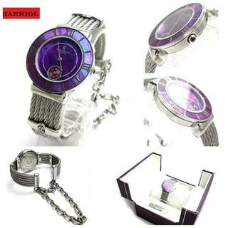 Charriol st. Tropez 30 plum ladies violet dial Comes with box Item no v002766 Size 30mm x 17cm Price 49,990
