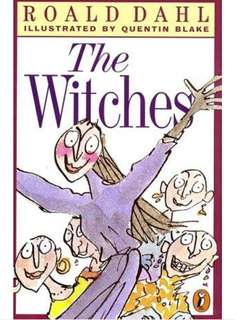 [U.P.S$12] ROALD DAHL(THE WITCHES) ILLUSTRATED BY QUENTIN BLAKE