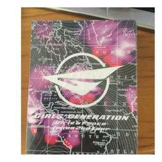 少女時代日本巡迴演唱會Concert DVD Girls and Peace