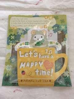 可愛小錦羊茶包