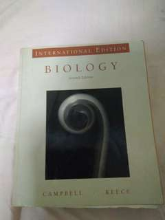 Biology Textbook (7th edition campbell reece)