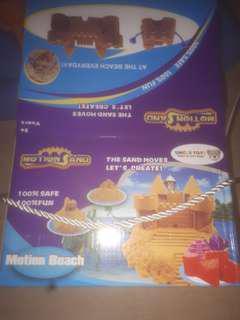 Kinetic sand Whole set