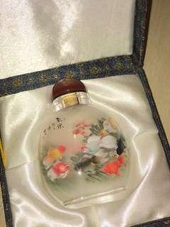 內畫壺 inner painting pot