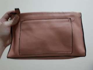 Zara pink sling bag