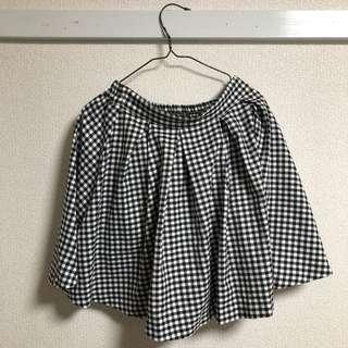 🚚 INGNI 黑白格子短裙