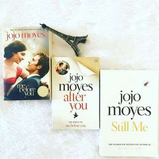 ⚡️🌟 [TRILOGY] ME BEFORE YOU - JOJO MOYES