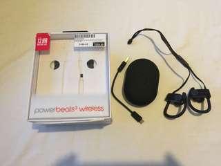 Powerbeats3 Wireless In-Ear Headphones (Black)