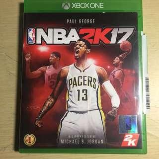 NBA 2K17(Xbox one)