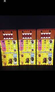 🚚 3 PCS Domo Clip On Magnetic Bookmarks Story Book School Kids Boys Girls Birthday Party Favor Goody Bag Gift Set