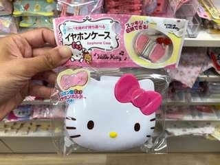 Earphone Case Hello Kitty
