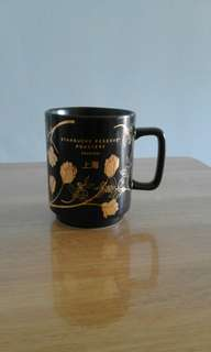 Starbucks Shanghai Black Gold Mug