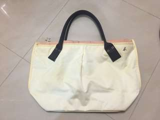 🔻🈹減價Agnes b 餃子袋(大size,可放A4file)‼️