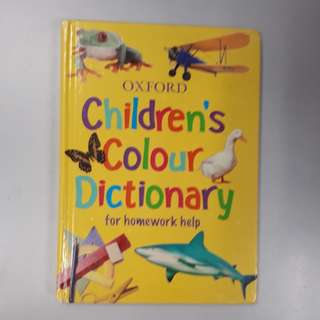 Oxford Children's Colour Dictionary (Hardcover Book)
