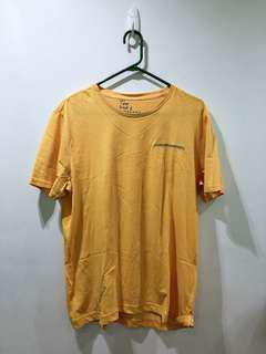 Giordano Yellow Tshirt Large