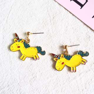 🚚 *instocks* ABNY THE UNICORN EARRINGS