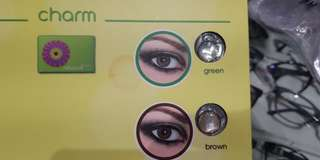 NEW Soft Lens New Look - Charm Brown