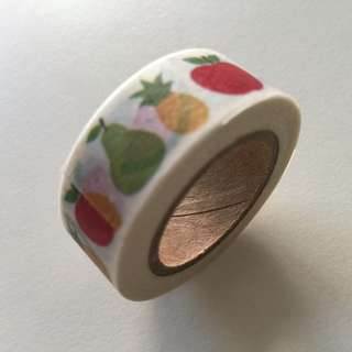 Fruits GJ114 Washi Tape 15mm x 10m