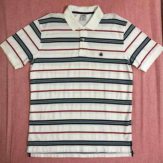 Brooks Brothers short sleeve striped polo