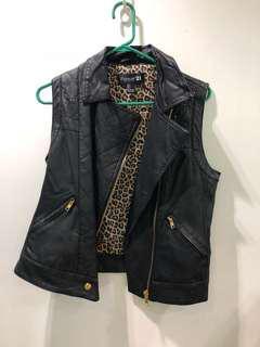 Forever21 leather vest