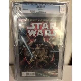CGC 9.8 Star Wars #1 Ross Variant Cover
