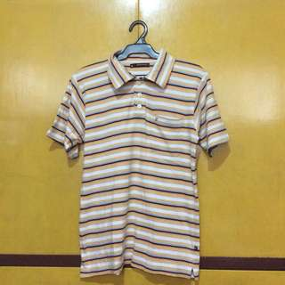Pierre Cardin Striped Polo Shirt