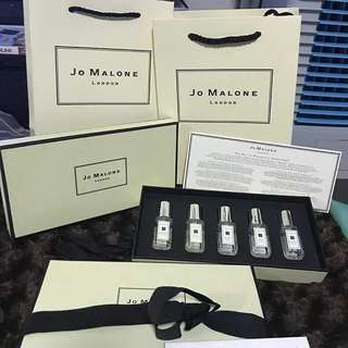 jo malone cologne collection giftset (box+segel )