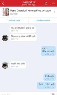The reason why i tak buat Cod