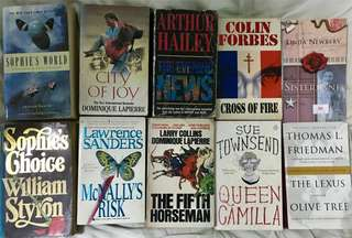 Cheap Bundle of Books - 10 Novels by Various Authors