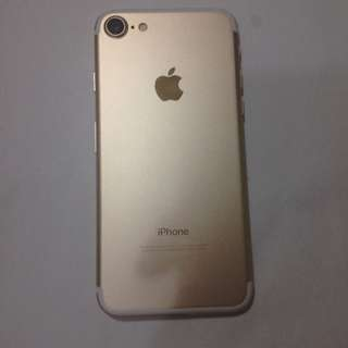 iPhone7 128gb gold 99%new perfect condition iPhone ( 7 0180)