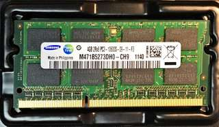 Samsung 4GB PC3-10600S