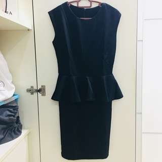Divalicious Peplum Dress