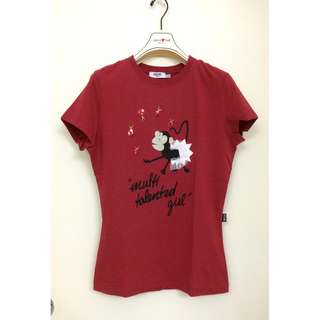 Moschino  Embroidery/Printed/Sequins T-SHIRT女裝車花印花亮片短袖衫 ~Made in Turkey 土耳其製造