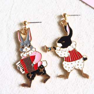 🚚 *instocks* YENNY THE MUSICIAN RABBITS EARRINGS