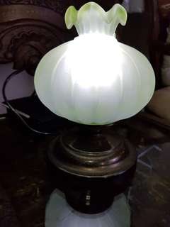 Antique onion bud lamp