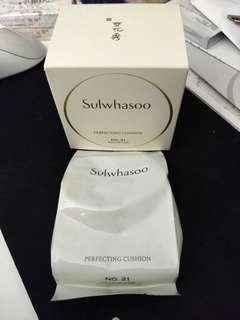 🚚 Sulwhasoo Perfecting Cushion No.21 Refill