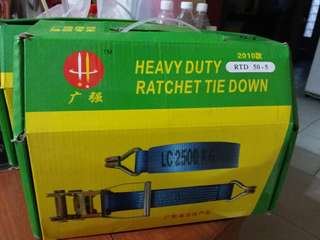 Lorry ratchet belt ( heavy duty)
