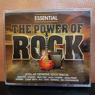 3CD》Essential - The PoweevOf Rock