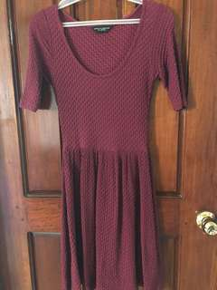 Dorothy Perkins Maroon Red dress