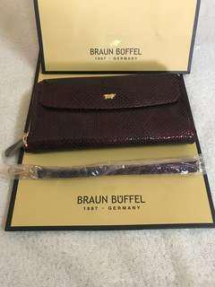 Braun Buffel Long Purse with Zip