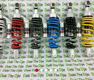 Shock breaker DBS, new G plus mio fino xeon soul GT vario beat scoopy spacy skydrive spin
