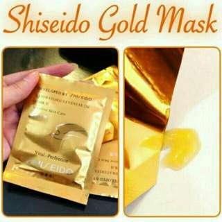 NATURGO GOLD SHISEIDO GOLD MASKER EMAS MASKER GOLD MASK