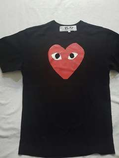 Authentic Comme Des Garcons Play Shirt