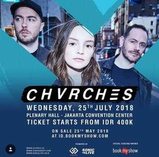 Chvrches Concert Festival B Harga Early Bird