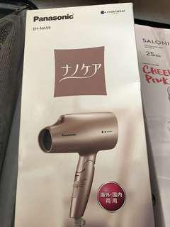 Panasonic 風筒 eh-na59 粉紅色 hair dryer 雙電壓