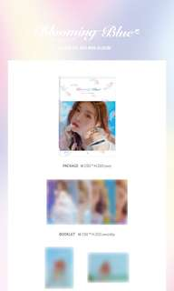 Kim Chungha 3rd Mini Album - Blooming Blue